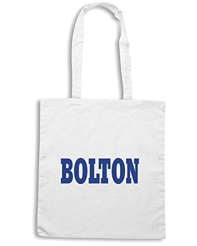 T-Shirtshock - Borsa Shopping WC0715 BOLTON Bianco