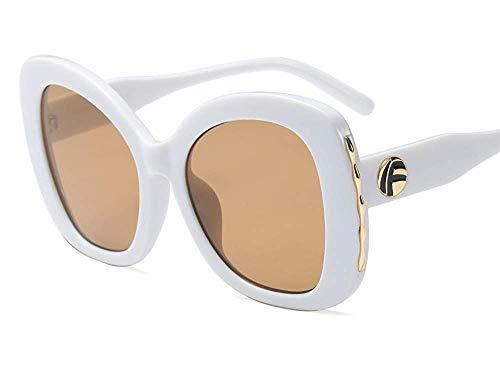 Wghz Big Box Gesicht abnehmen Sonnenbrille/Mode Männer und Frauen Brille/Trend Neue Sonnenbrille