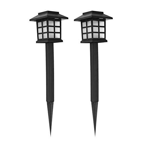 Romote 2ST Stake Lichter ABS Solar-Garten-Licht Outdoor-Einsatz Lampen Dekorativen Weg-Licht-Lampe Patio (Lichter Solar-outdoor-anteil)