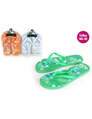 Aquapro Chaussures Motif plage bali vert