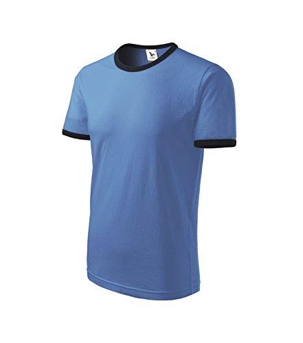 T-Shirt Shirt Herrenshirt infinity Blau
