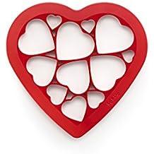 Lékué - Cortadora para galletas, formas de corazones