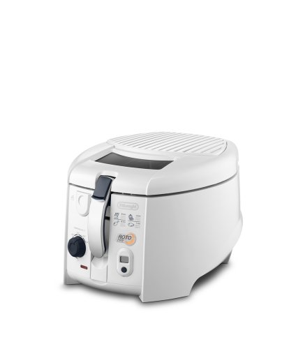 DeLonghi 551999 F 28533 Friteuse rotoFry, weiß - 2