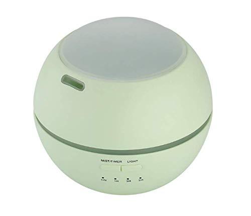 Tossi Luftbefeuchter Aroma Diffusor 150 ML Ätherisches Öl Duft Mini Aromatherapie Luftbefeuchter Holzmaserung Auto Abschaltung 7 Farbe LED-Leuchten Für Zuhause Schlafzimmer Büro Baby,Green