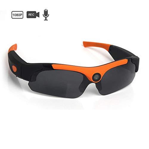 OOLIFENG Volles HD 1080P Brillenkameras, 8MP Kamera Tragbar Videokamera Zum Outdoor-Sportarten