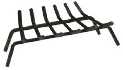 PANACEA PRODUCTS CORP - 27-Inch Black Wrought Iron Fireplace Grate
