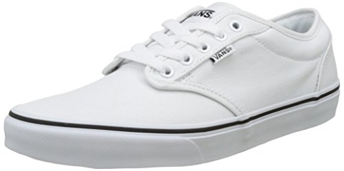 Vans Men's Atwood Trainers, White ((Black Foxing) White/White Ia1 ...