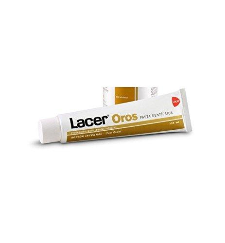 Lacer Oros Pasta Dentífrica Con Fluor 125 Ml + 20%Gratis Unisex (precio: 6,47€)