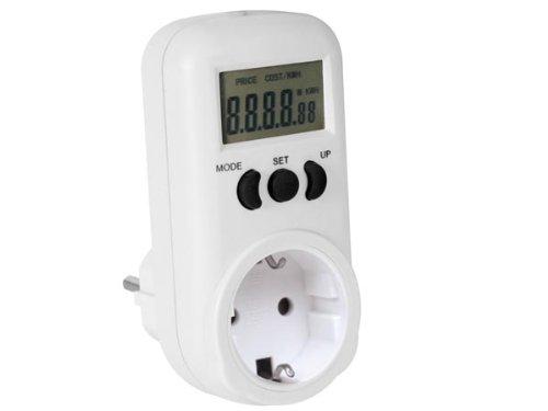 PEREL - E305EM6-G Energiekosten Messgerät 230V/16A, Deutsches System 162420