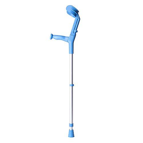 Bastón inglés muleta BCR doble regulación azul