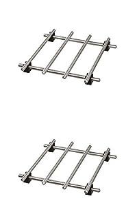 Ikea Trivet (2 Pack) Lamplig Stainless Steel 7 X 7