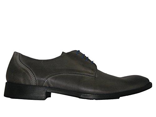 nicolabenson 1608B Padova grigio/grigio, Scarpe stringate uomo grigio/grigio