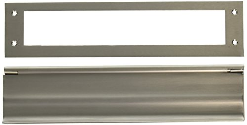 Deltana MS0030U15 HD 3-1/16-Inch x 13-Inch Solid Brass Mail Slot by Deltana