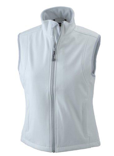 James & Nicholson Damen Jacke Softshellweste weiß (off-white) Large