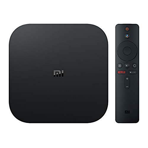 Oferta de Xiaomi MI TV BOX S - Reproductor streaming en 4K Ultra HD, Bluetooth, Wi-Fi, Asistente de Google con Chromecast, Negro