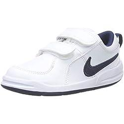 Nike Pico 4 (TDV), Baskets bébé garçon, Blanc (White/Midnight Navy 101), 19.5 EU
