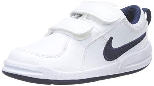 Nike Unisex-Kinder Pico 4 (TDV) Lauflernschuhe, Weiß (White/Midnight Navy/101), 26 EU (Mädchen Turnschuhe Größe 5 Nike)