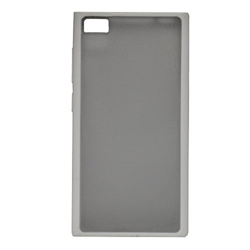 Brain Freezer Hard Shell Back Case Cover for Xiaomi M3 Mi3 Clear White