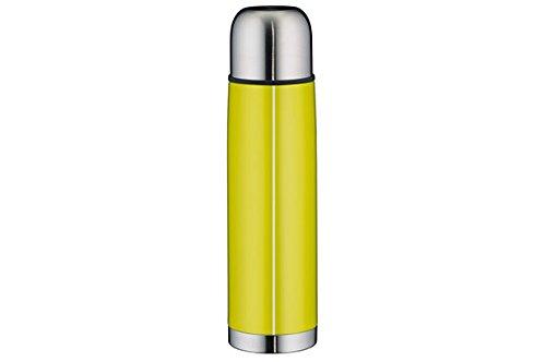 Alfi 5457.278.075 Isolierflasche IsoTherm Eco, Edelstahl (0,75 Liter), apfelgrün