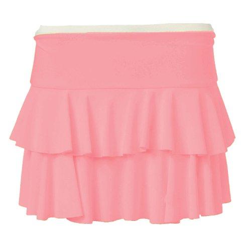 Fast Fashion Damen Dehnbar Leuchtfarben Rara Minirock (EUR 40/42 - UK (12-14), Baby Pink)