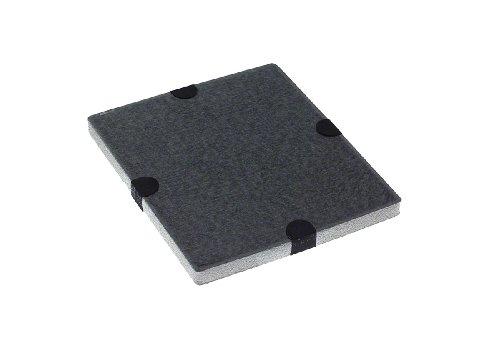 Miele DKF12-1 AKTIVKOHLEFILTER Aktivkohlefilter/Bindet unangenehme Gerüche/Für Dunstabzugshauben beim Umluftbetrieb incl. MARETeam Poliertuch