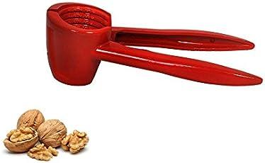 AMR Royale Red Walnut Cracker , Luxury Die Cast Alluminium Alloy Nutcracker Walnut Clamp Plier Portable Smart Walnut Pincers