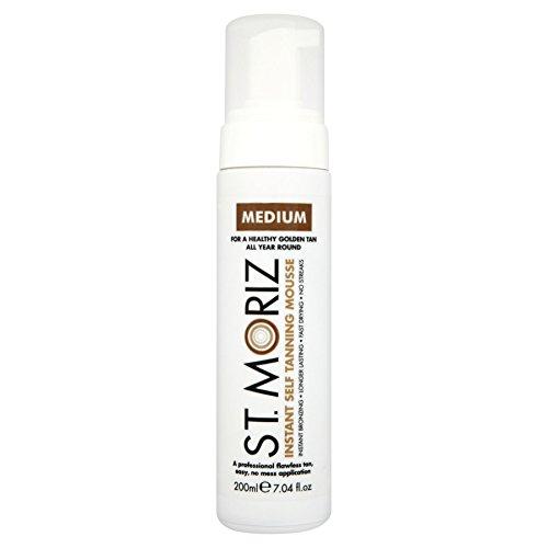 12x ST Moriz Körperpeeling zur Tanning Mousse Medium 200ml