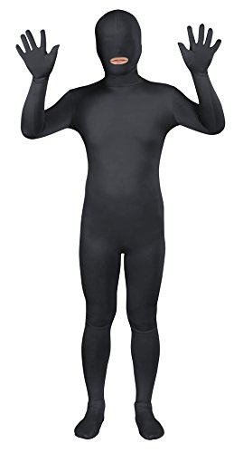 Sheface Spandex Mouth Open Second Skin Zentai Full Body Costume (X-Large, ()