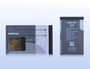Original Nokia BL-5C Li-Ion Akku passend für Nokia 1100