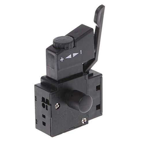 SALAKA 1PC Negro Premium Quality 10A Lock on Power