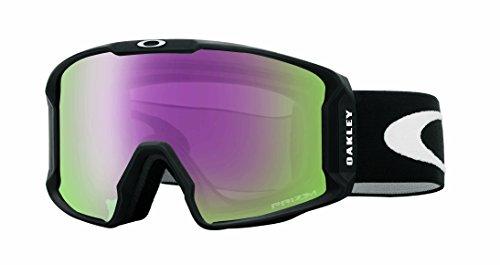 Oakley Herren Lineminer 707012 0 Sportbrille, Schwarz (Matte Black/Vr50Pinkiridium), 99
