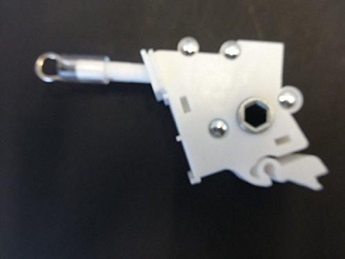 Low Profile Universal Zauberstab, Tilter für 5,1cm horizontale Jalousien, Hex Gear, plastik, weiß, Low Profile