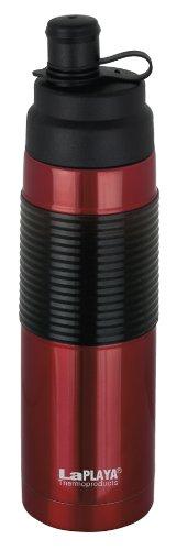 LaPlaya Thermoproducts 537012 Borraccia in acciaio inox termico, per sport e bici,...