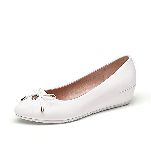 l'Europe et la chute de chaussures/Femmes talons/ARC Asakuchi haute ronde tête chaussure C