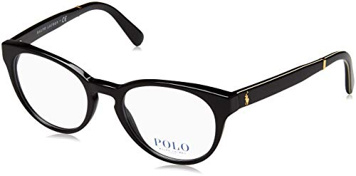 Polo Ralph Lauren - TARTAN PH 2164, Rund, Acetat, Damenbrillen, BLACK(5001), 49/19/145 Ralph Lauren Tartan