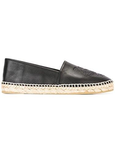 kenzo-womens-f752es180l5199-black-leather-espadrilles