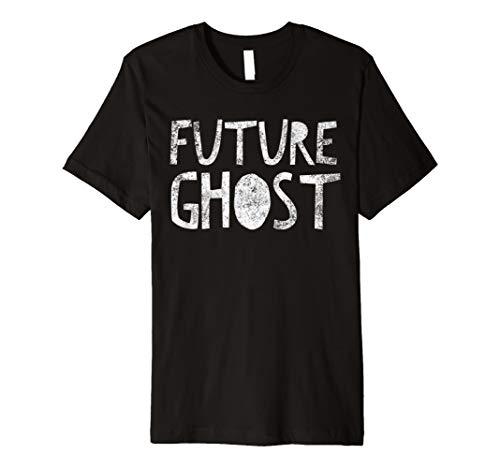 Future Ghost: Lustiges Halloween-Kostüm T-Shirt, -