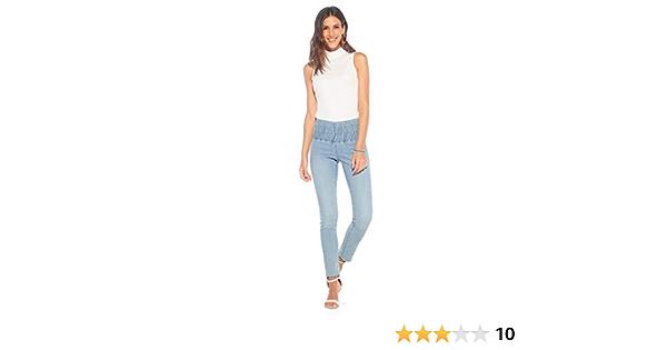 117074 VENCA Legging /élastique Brillant Femme