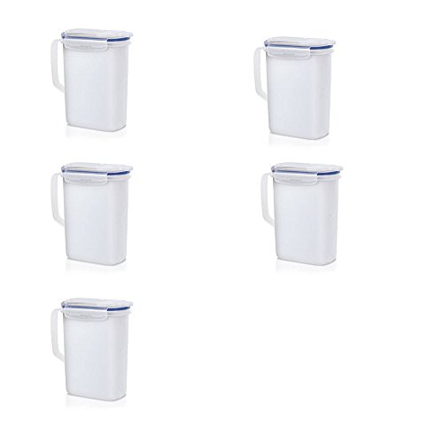 5-x-addis-clip-close-boites-alimentaires-en-plastique-carafe-de-refrigerateur-15l