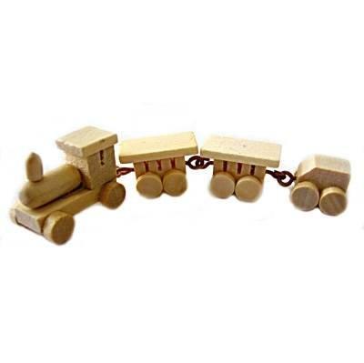 Miniatur Deko-Zug, 4tlg [Spielzeug] Miniatur-zug