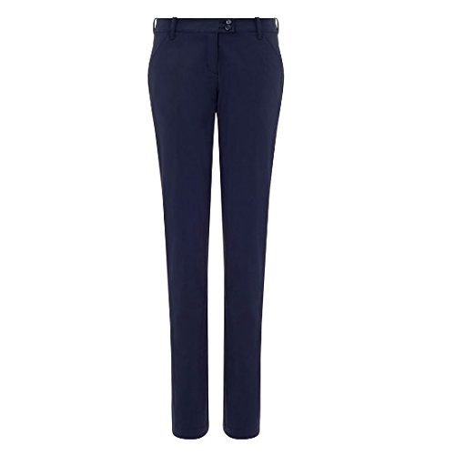 Callaway Damen SOLID Pant Hose, blau, Size 10-32 (Callaway Hosen)