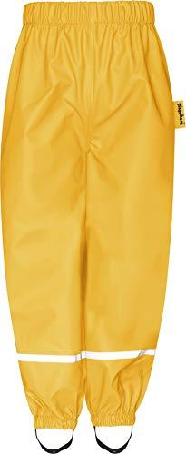 Playshoes Mädchen Regenhose, Gelb (Gelb 12), 128
