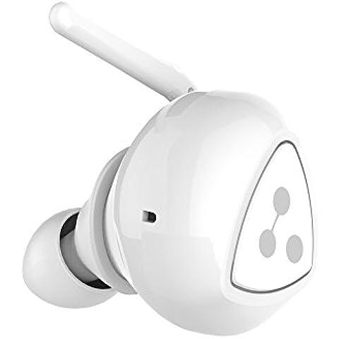 MINI Auriculares,Marpow,Est¨¦reo inal¨¢mbrica Bluetooth Auriculares,Auriculares inal¨¢mbricos Bluetooth 4.0 Auricular Deportivo con un mont¨®n de soporte para Android / iOS / iPad / Tablet,Color