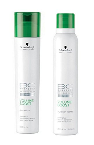 Schwarzkopf BC Bonacure Shampooing Volume Boost Set (250 ml + mousse Perfect 200 ml)