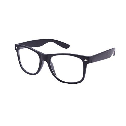 Lens Uv Protected Wayfarer Unisex Sunglasses(Lsw-0101|40|Clear)