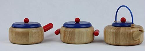 Küchenzubehör Set Teekessel, Kasserolle und Topf