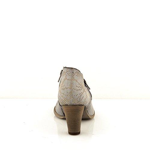 Felmini - Scarpe Donna - Innamorarsi com Viana 9583 - Stivaletti con tacco - Pelle Genuina - Multicolore Multicolore