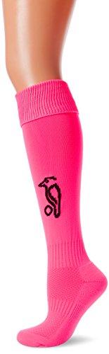 Kookaburra Unisex Socks M Hockey Clothing, Fluro Pink, Medium
