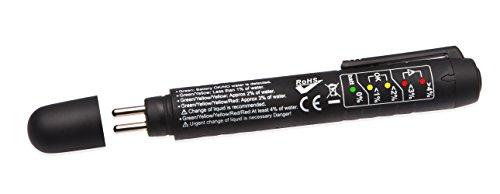 Bremsflüssigkeitstester Bremsflüssigkeitsprüfer Tester Bremsflüssigkeit 5 LED