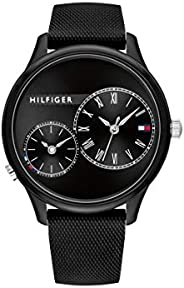 Tommy Hilfiger Womens Quartz Watch, Chronograph Display and Silicone Strap 1782147